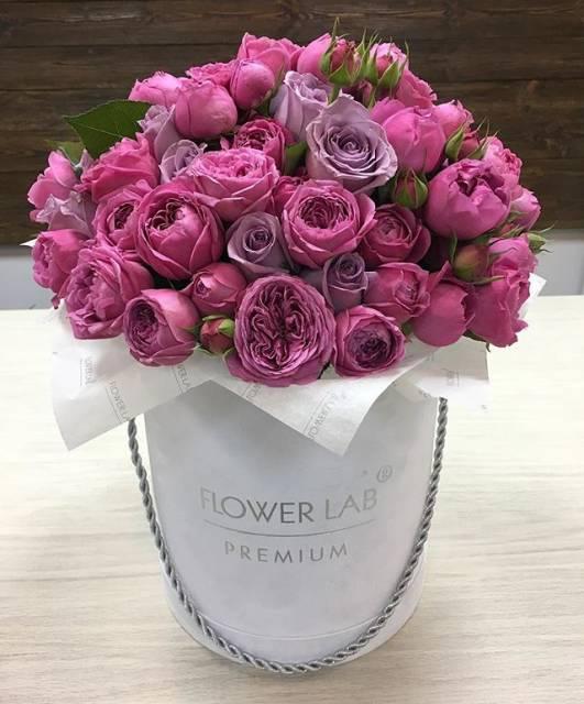 Пионовидная кустовая роза фото